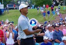 Tiger, Spieth, Koepka… Estos fueron los 5 mejores golpes en la segunda jornada del US PGA (VÍDEO)