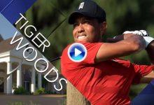 Así fue la primera jornada de Tiger Woods en el US PGA, 70 golpes resumidos en apenas 3′ (VÍDEO