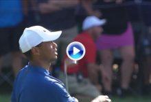 Así fue la tercera vuelta, 66 golpes, de Tiger en el US PGA. Es sexto y saldrá a por el título (VÍDEO)