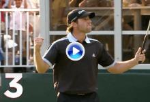 El puro de Sergio en la edición de 2008, el 3er mejor recuerdo del Northern Trust para el PGA (VÍDEO)