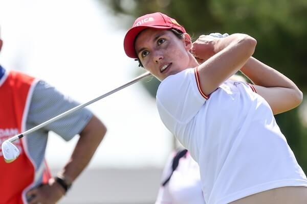 Carlota Ciganda defiende con uñas y dientes el Top 6 en Florida y se queda a cinco de Lexi Thompson