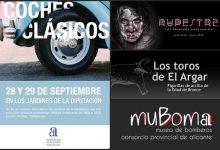 Agenda Cultural: Citas en la Provincia con la Diputación de Alicante (Semana del 1 al 7 octubre)