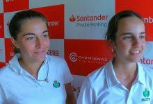 Las amateurs Ana Pina y Ana García, colíderes tras el primer día de competición en el Real Club Sevilla