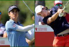 """Gran Top 10 de """"Aza"""" y Carlota en un Mediterranean Ladies Open dominado por la holandesa Van Dam"""