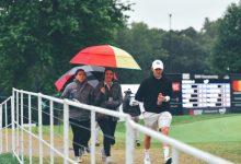 Las lluvias obligan a suspender la jornada final del BMW Championship y el torneo finalizará el lunes