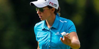Carlota Ciganda llega con opciones de adjudicarse la CME en el evento final del curso de la LPGA