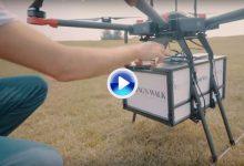 Una empresa americana pone en práctica un servicio de entrega rápida con drones (VÍDEO)