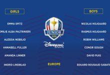 David Puig y Eduard Rousaud, seleccionados por el equipo europeo para jugar la Junior Ryder Cup