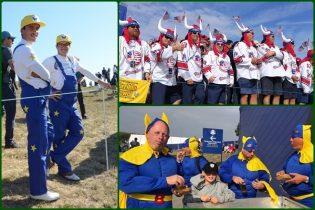 Superhéroes, Tigres y Vikingos. El público de Le Golf National da colorido a la Ryder Cup (Ver GALERÍA)