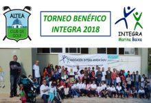 Altea CG acoge el evento más Solidario con el Torneo Benéfico INTEGRA 2018, será el 7 de octubre