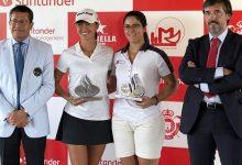 Natasha Fear y Natalia Escuriola, pareja ganadora en el RC Sevilla en la 4ª prueba del Circ. Nacional