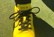 Siempre presente: Rickie Fowler le dio el último homenaje a Jarrod Lyle a través de sus zapatos