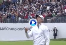 El Golf es duro… Rose tuvo que salir al PlayOff tras esta inesperada corbata en el hoyo 18 (VÍDEO)