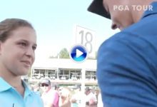 Rory hizo feliz a Fernanda, una joven fan que viajó 6.400 kilómetros para verlo en Atlanta (VÍDEO)