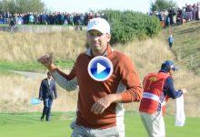 Sergiooo, Sergiooo, Sergiooo. De esta forma anima el público en Le Golf National al español (VÍDEO)