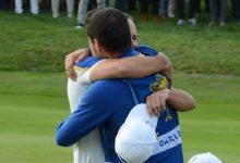 Sergio García entra en la historia de la Ryder Cup: supera a Faldo y ya es el jugador con más puntos