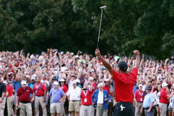 Tiger Woods Audiencias Tour championship 18 @PGATour