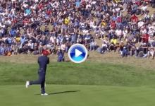 ¡Wow! El Tigre tuvo que sacarse de la chistera este eagle para poder ganarle un hoyo al León (VÍDEO)