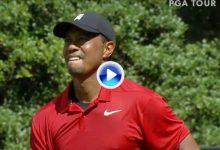 Así fue la histórica jornada de Tiger Woods en la que levantaba su 80 trofeo en el PGA Tour (VÍDEO)