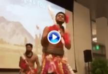 Finau protagonizó una danza polinesia con motivo de su clasificación para la Ryder Cup (VÍDEO)
