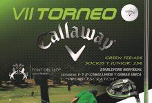 ¿Planes para el próximo sábado 15-S? Font del Llop Resort acoge la VII edición del Torneo Callaway