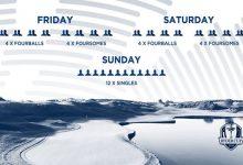 Todo listo para que dé comienzo la 42º Ryder Cup. Estos son los horarios para los tres días de juego