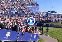 Europa vs. Capitán América: Reed se dirigió a la grada tras los abucheos de los fans locales (VÍDEO)