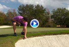 Nuevas Reglas de Golf (14): Se podrá declarar bola injugable en el bunker y dropar fuera de él (VÍDEO)