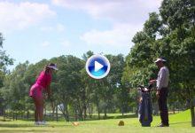 Nuevas Reglas de Golf (15): El caddie o compañero no podrá ayudar a alinearse en el stance (VÍDEO)