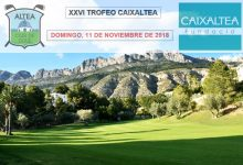 Altea CG vestirá su mejores galas para acoger la XXVI edición del Trofeo Caixaltea (11 de noviembre)