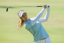 Azahara se queda sola en The Renaissance, pero colidera con maestría el Ladies Scottish Open