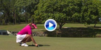 Nuevas Reglas de Golf (7): Cuando y como reponer la bola cuando esta se mueve en el green (VÍDEO)