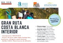 La Diputación de Alicante da a conocer la Gran Ruta Costa Blanca Interior a través del senderismo