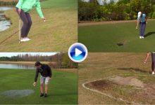 Nuevas Reglas de Golf (5): A la hora de dropar se realizará siempre a la altura de la rodilla (VÍDEO)