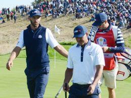 Dustin Johnson y Koepka estuvieron a punto de llegar a las manos tras la derrota del equipo USA