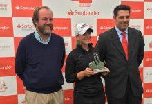 Laura Gómez consigue su primer título profesional en el Circuito Nacional Femenino en Neguri