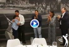 Emotivas palabras de Txema Olazábal hacia María Acacia López-Bachiller en su homenaje (VÍDEO)