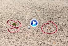 Nuevas Reglas de Golf (13): Mover impedimentos sueltos o tocar tierra en el bunker (VÍDEO)