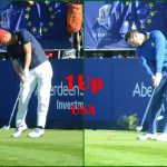 Match 01 Justin Thomas vs Rory McIlroy. Fotos OpenGolf.es