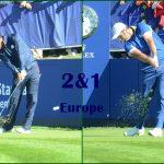 Match 04 Tiger Woods vs Jon Rahm. Fotos OpenGolf.es