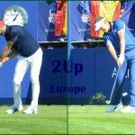 Match 06 Dustin Johnson vs Ian Poulter. Foto OpenGolf.es