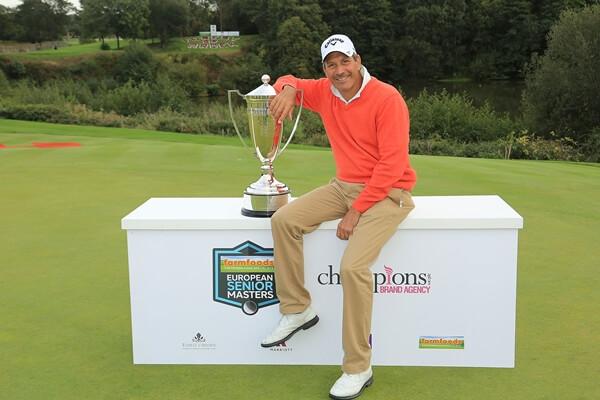 Santi Luna conquista su cuarto título en el Staysure Tour tras imponerse en el European Senior Masters