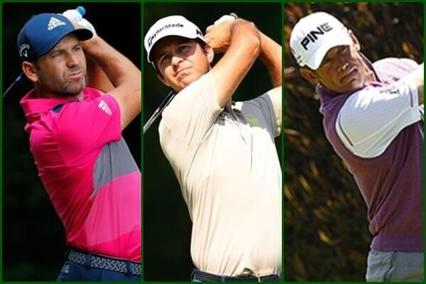 Sergio, Westwood y Campillo, partido de lujo para jueves y viernes en Valderrama (Ver HORARIOS)