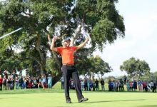 Sergio hace historia en Valderrama: se convierte en el primero en lograr un Hat Trick en el ET tras Tiger