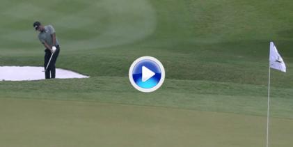 Shubhankar Sharma luchará por estrenarse en el PGA Tour gracias a golpes como este chip (VÍDEO)