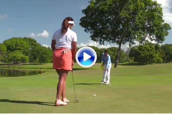Nuevas Reglas de Golf (9): A partir del 1 de enero se podrá tocar el green para indicar la línea (VÍDEO)