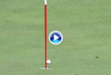El Golf es duro… Hatton se quedó a 10 cms. del Hoyo en Uno con un tiro perfecto en el 4 (VÍDEO)