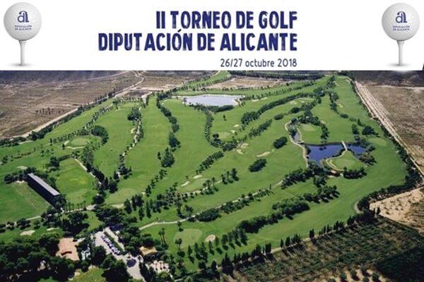 El II Torneo de Golf Diputación Alicante a celebrar en El Plantío espera colgar el cartel de completo