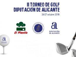 El esperado II Torneo de Golf Diputación Alicante llegará a El Plantío los próximos 26 y 27 octubre