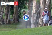 Gran segundo golpe de Álvaro Quirós en Hong Kong desde el bunker tras fallar la calle en el 6 (VÍDEO)